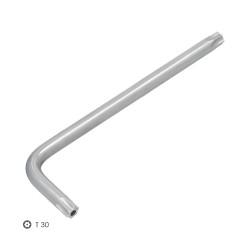 Estribo Perfil Para Riel P-909 Blanco (Caja 50 Unidades)