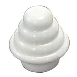 Soporte Zirconio Lateral 28 mm. Bronce Viejo (2 Piezas)