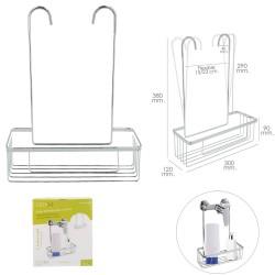 Cuerda Poliester Trenzada Blanco / Azul 10 mm. Bobina 100 m.