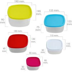 Caja Estanca Superficie Con Tornillo 150x110x70 mm.