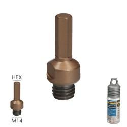 Tapajuntas Adhesivo Para Ceramica Metal Oro 98,5 cm.
