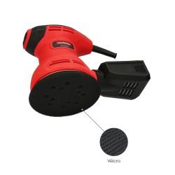 Contera Cuadrada Interior Negra 30x30 mm. Blister 4 piezas.