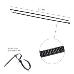 Hilo Nylon / Aluminio Redondo Profesional 3,0 mm (50 Metros)