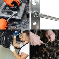 Cuchillo Montana Patatero Hoja Acero Inoxidable 9 cm. Mango madera (Blister 3 piezas)