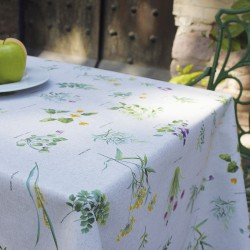 Mantel Antimanchas TextilPrimavera Rollo 1,4 x 25 metros.
