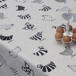 Mantel Antimanchas Textil Hens Rollo 1,4 x 25 metros.