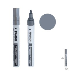 Rotulador Marcador Obra Profesional Pintura Permanente Plata