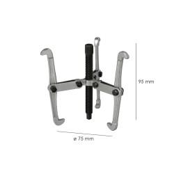 Sujetacables Plano Simple 3 mm. (Bolsa 200 Unidades)