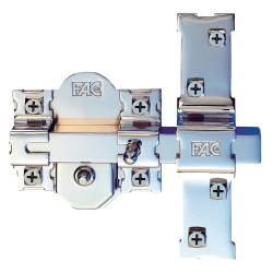 Cerradura Tesa Seguridad R100b566 Cromo